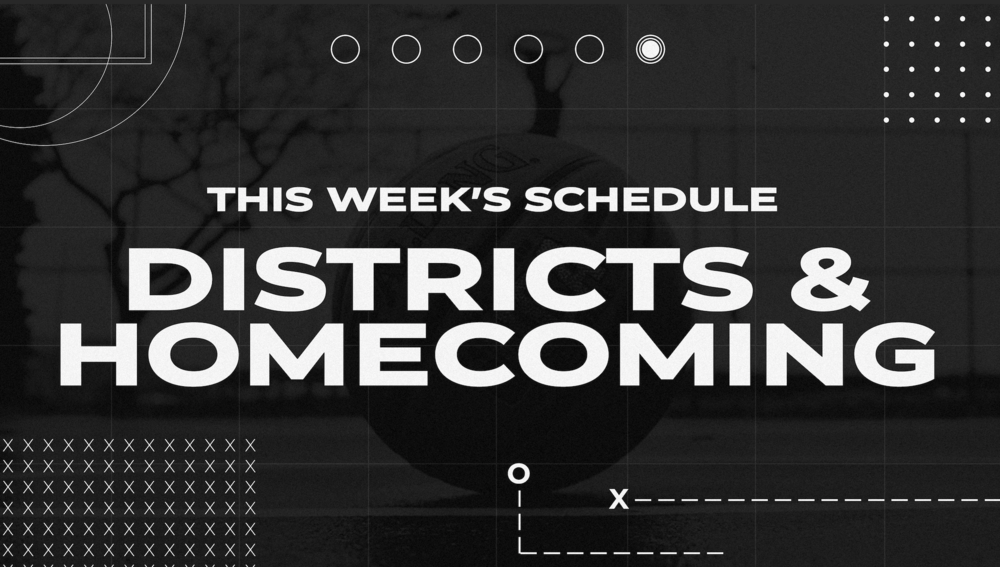 Updated: District Basketball & JH/HS Homecoming