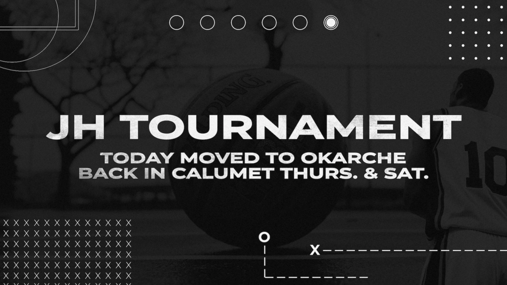 JH Tournament Moved to Okarche Monday