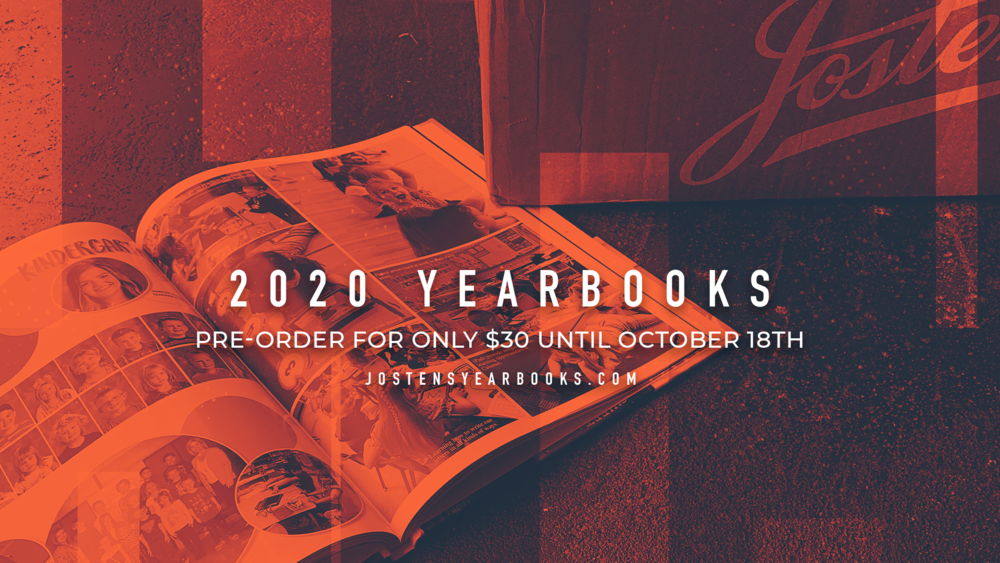 Preorder Your 2020 Yearbook for only $30