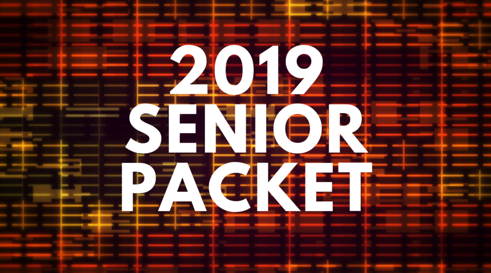 2019 Senior Packet Now Available