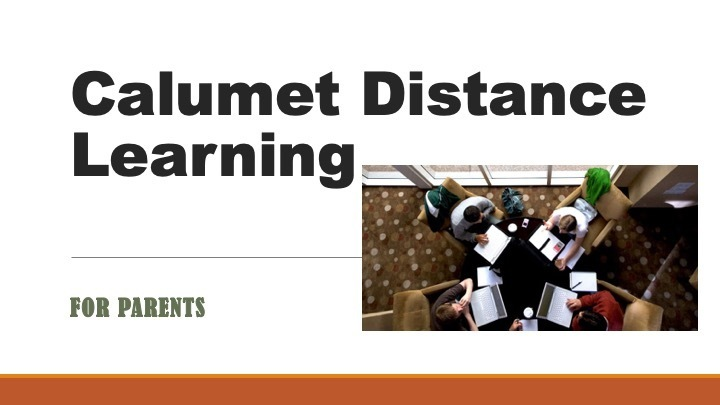 Information on Distance Learning