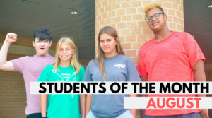 Calumet Students Shine in August