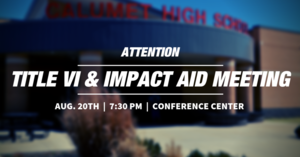 Title VI & Impact Aid Meeting