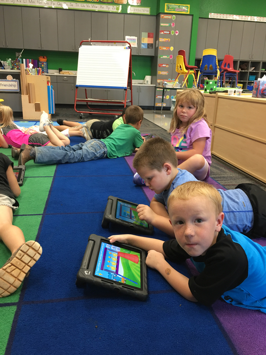 iPads, math and friends