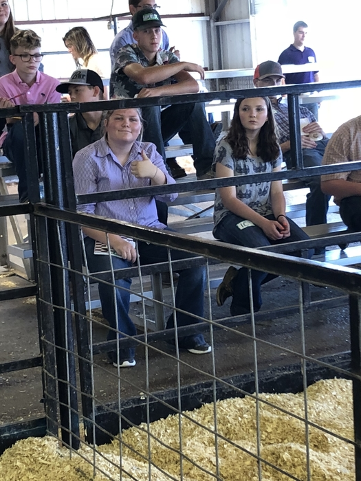 Raven judging at Canadian County