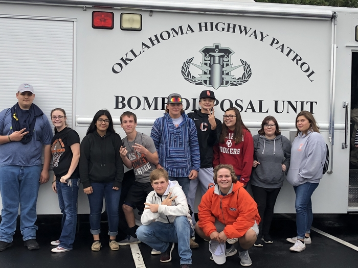 Touring the bomb squad disposal unit!
