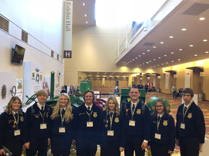 Good morning from National FFA Convention