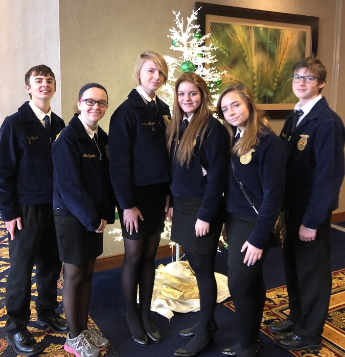 FFA members learned leadership skills at MFE this weekend in Tulsa