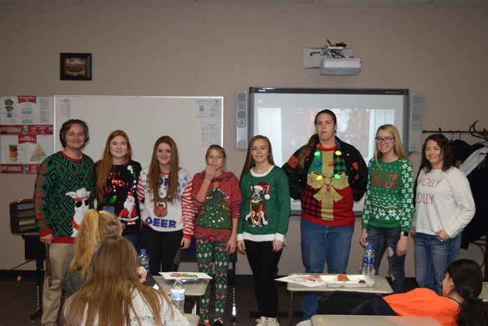 FFA Ugly Sweater Party