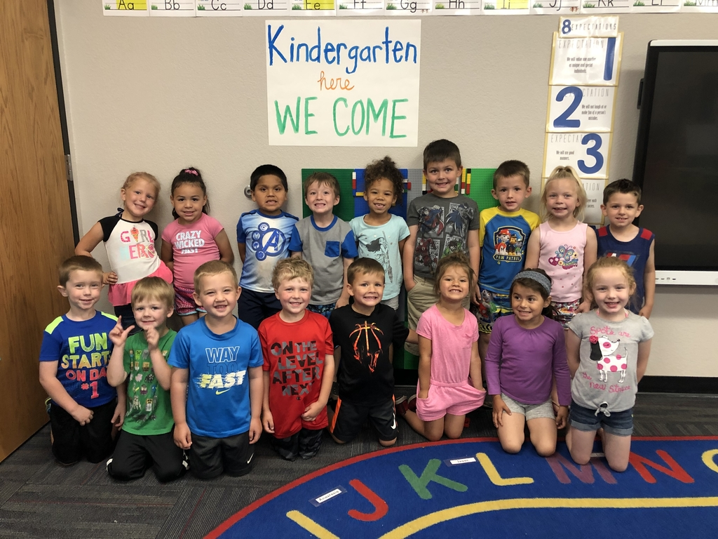 Kindergarten here we come!