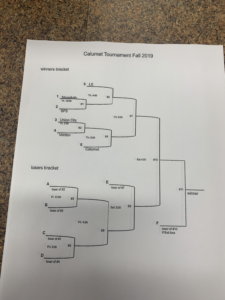 Calumet tournament