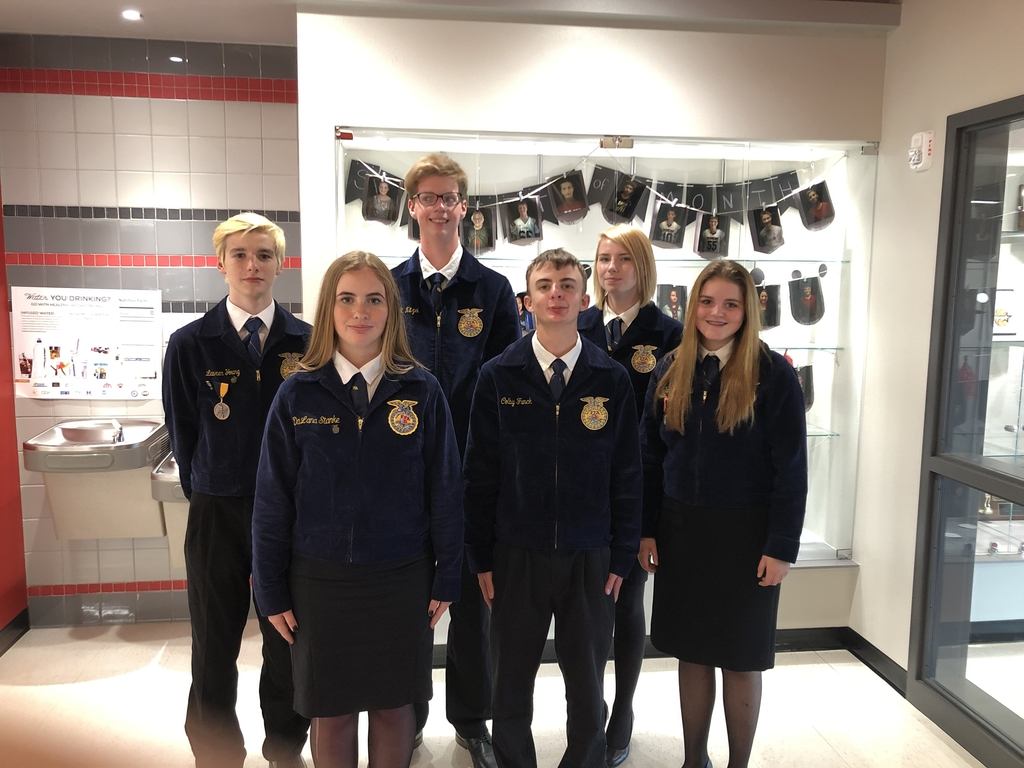 FFA Opening Ceremonies team competing at Rush Springs