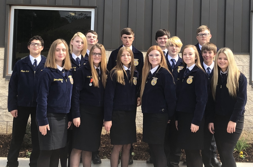 FFA members are ready to compete for a chance to go to State!