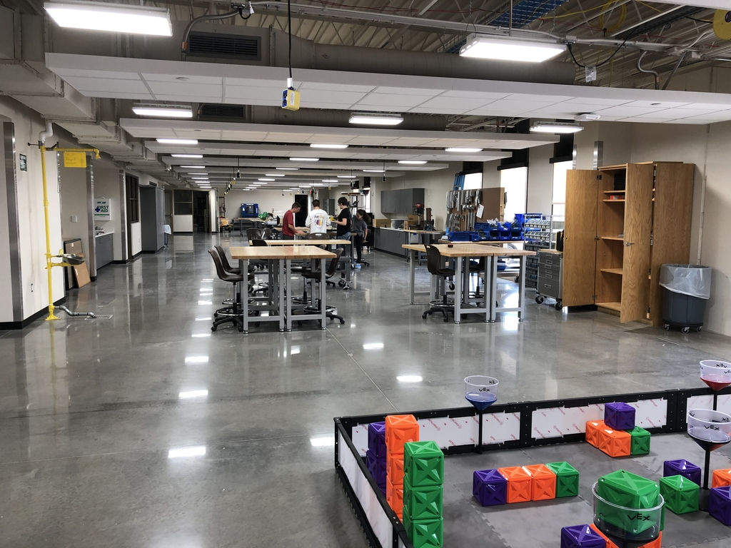 Maker space at CVCT.