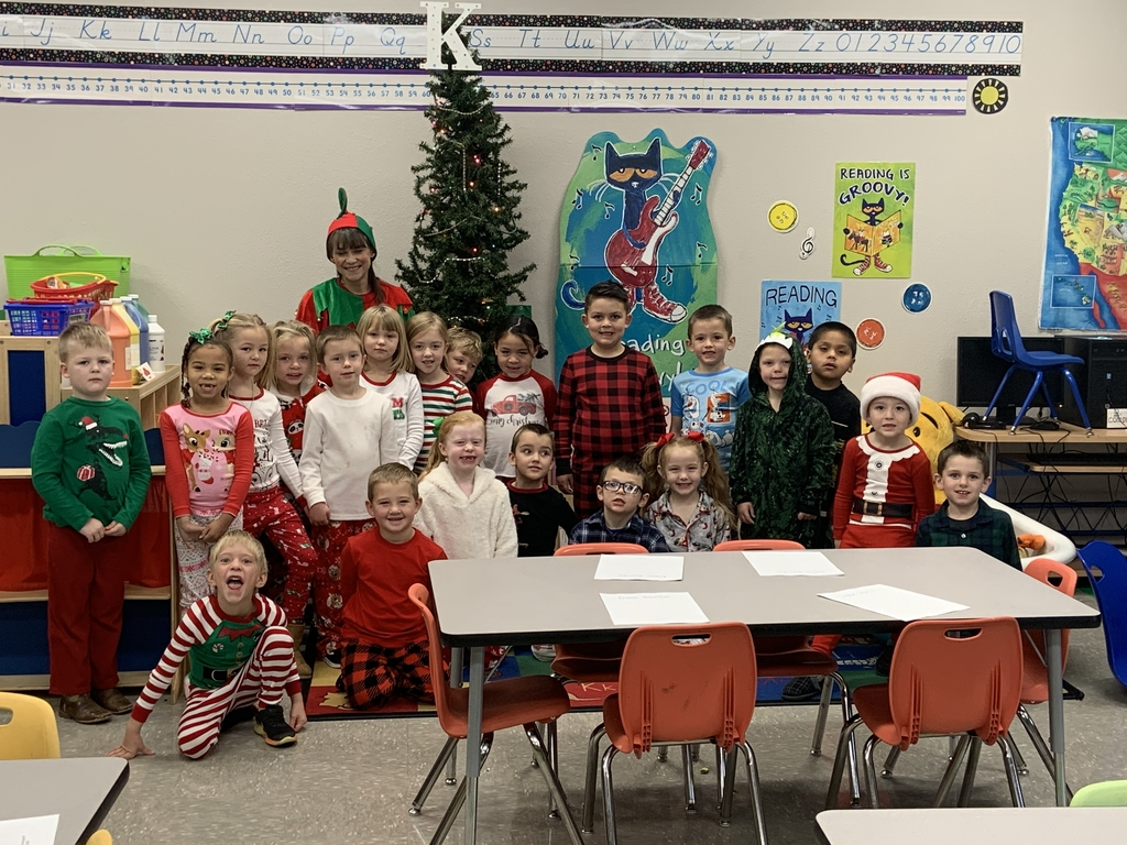 An elf in the classroom!