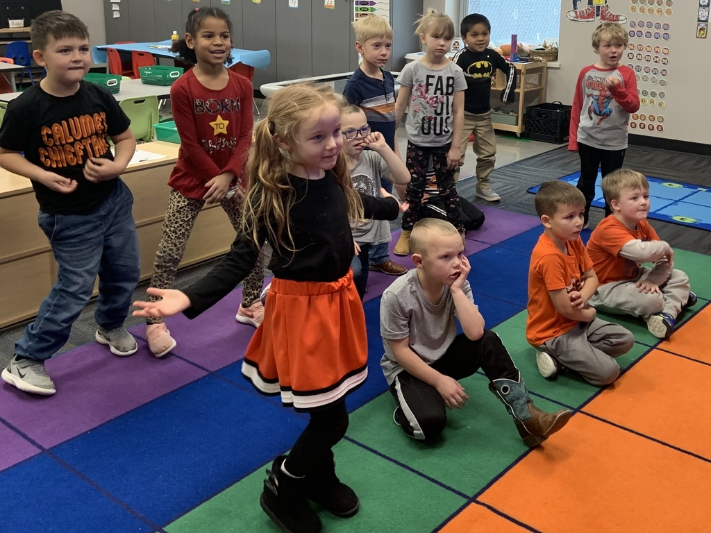 Dancing while learning sight words!